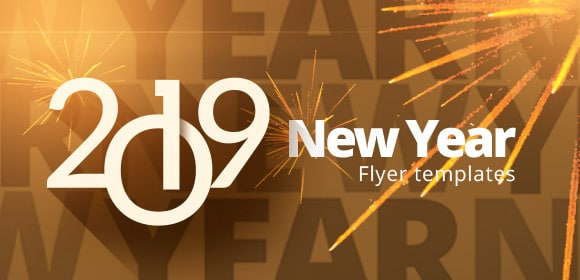 new year flyer templates