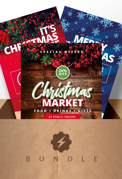 Christmas-Marketing-flyer-Bundle