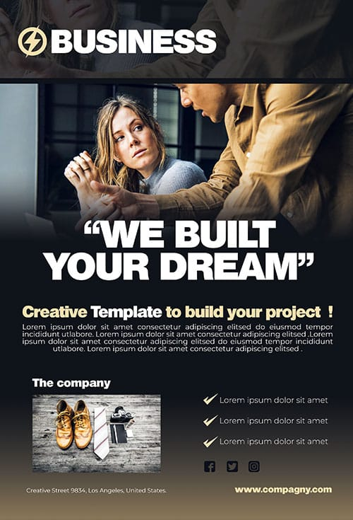 Business Brochure Template Psd