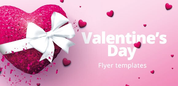 Valentine's day flyers