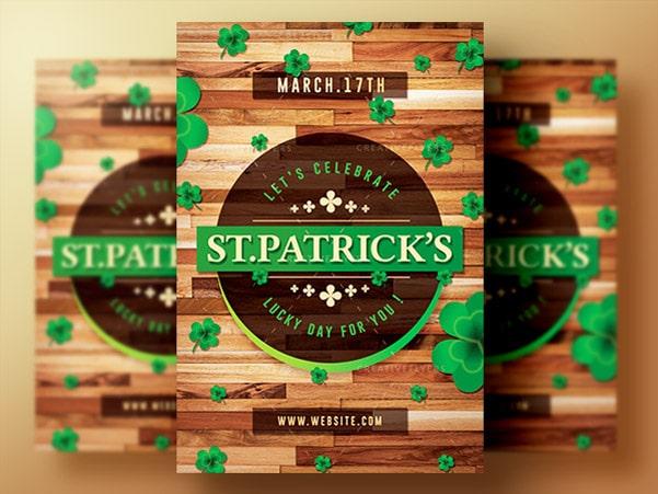 Saint Patrick's Day Flyer Template PSD