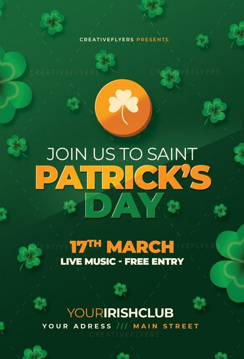 St Patrick's Day Invitation