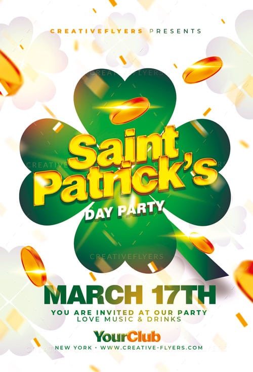 St Patrick's Invitation