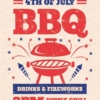 Bbq Party Flyer ready to print