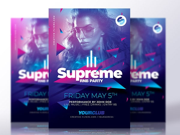 Party Flyer for photoshop