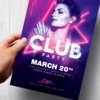 Club Party Flyer Template Psd