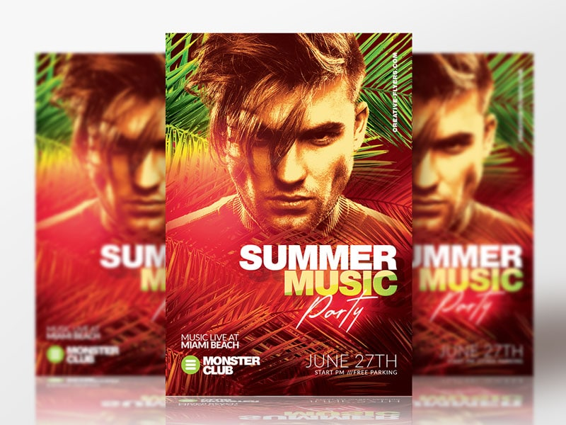Dj Flyer Psd Template