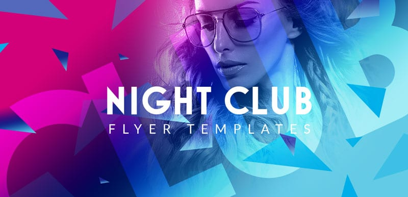 Night club flyer templates