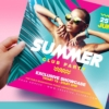 Summer Club Party Flyer for photoshop