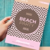 beach party psd flyer for photoshop