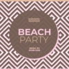 Beach Party psd flyer