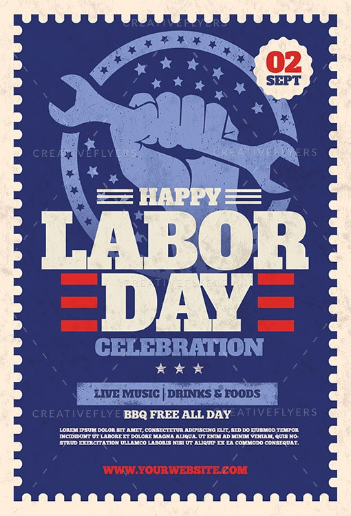 image about Closed for Labor Day Printable Sign identified as Labor Working day Celebration Flyer