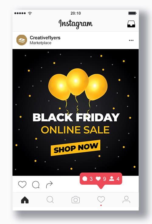 Black Friday Social Media Template