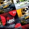 3 Halloween Templates