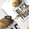 Black Friday Flyer Psd