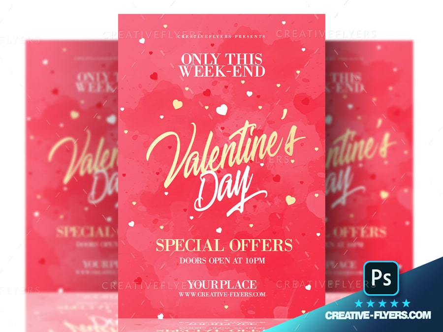 Valentines Day Special Offer flyer