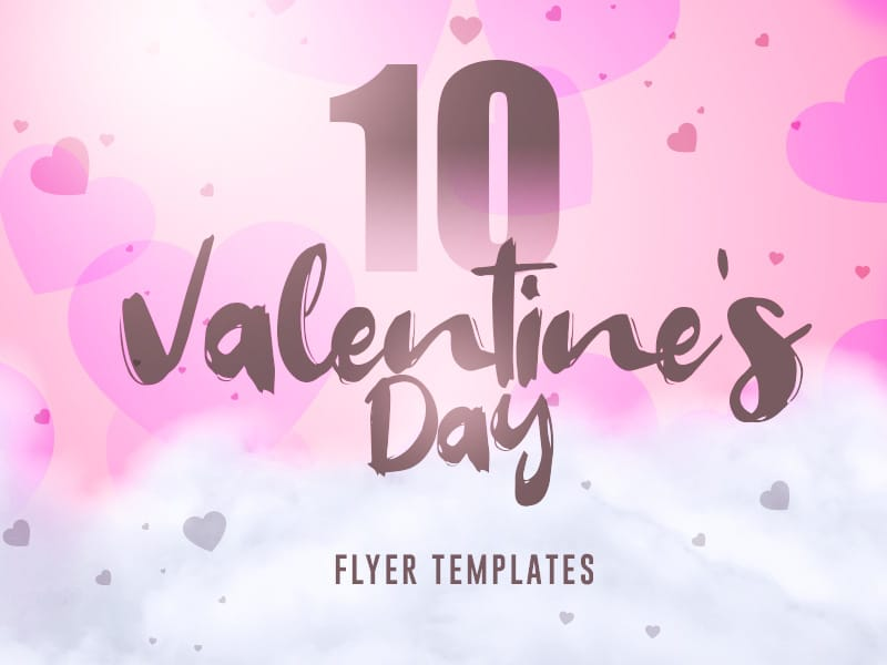 10 Valentines Day flyer