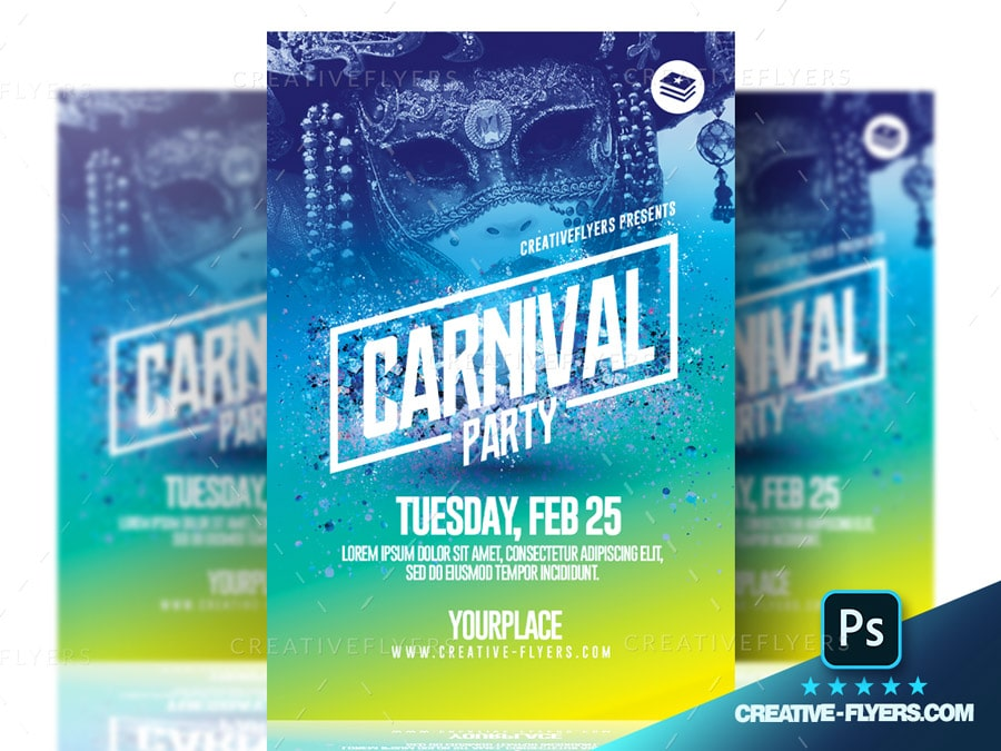 Customizable Carnival flyer