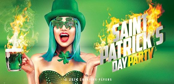 St Patrick's flyers