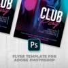 Free Night Club Flyer Template