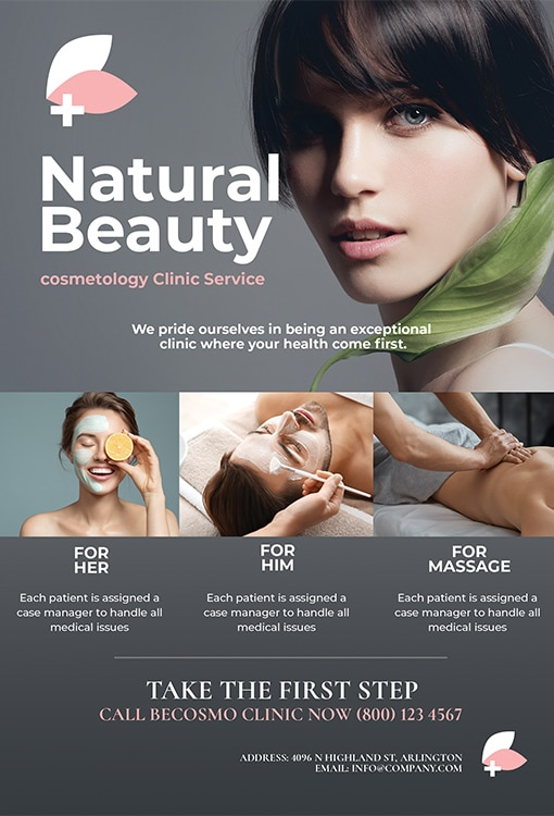 Cosmetic Flyer Template