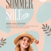 summer collection flyer design
