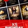 5 Creative Birthday Flyers Bundle