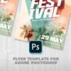 Festival Music PSD Template