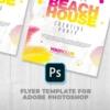 Summer Beach House Flyer