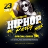 Hip Hop Party Flyer Psd
