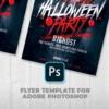 Halloween Party Psd flyer