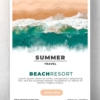 Summer Resort Promotional Flyer