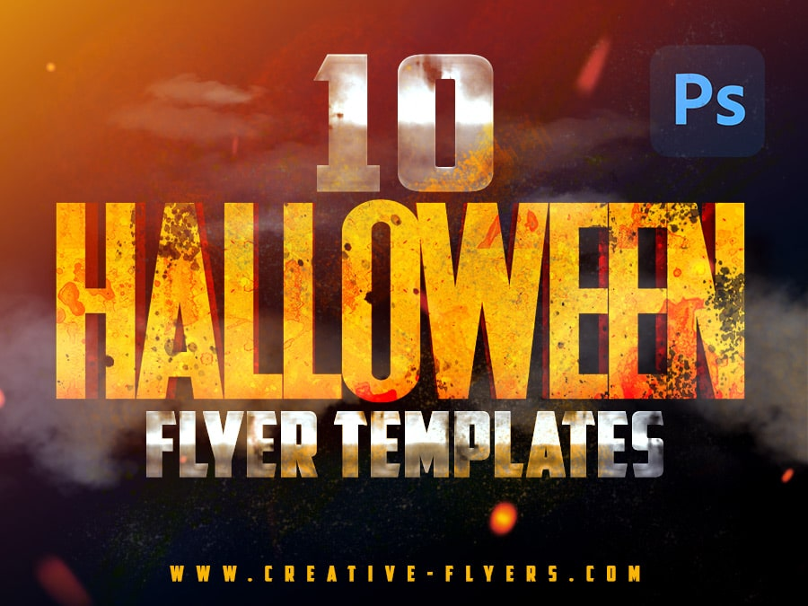 10 halloween flyer templates