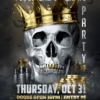 Halloween Flyer Black and Gold