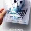 Halloween Party Flyer Design