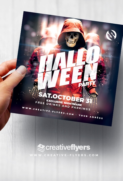 Template for Halloween Party