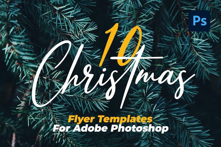10 best Christmas flyer templates