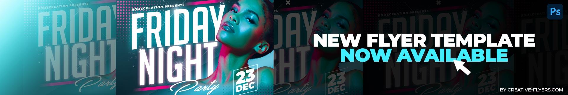 New nightclub flyer